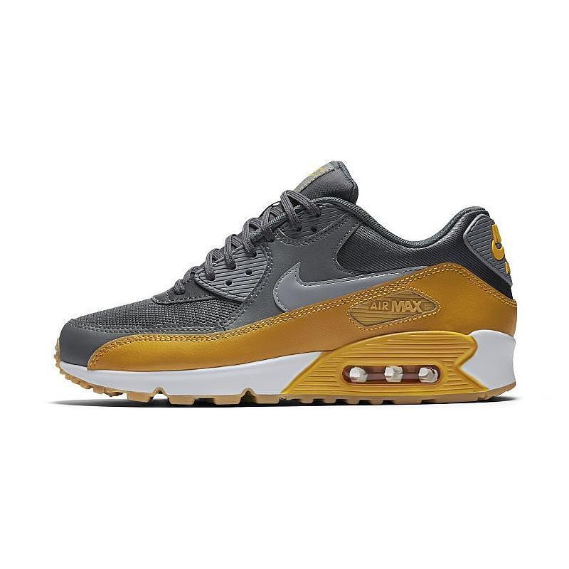 Wo Hommes Nike Air Max 90 Essential Neu Sneaker Gr:37,5 Grau-Gelb 90 95 97 Premium
