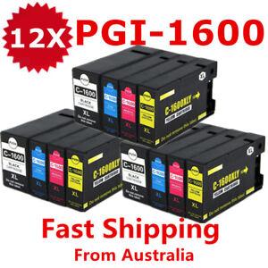 12X-PGI1600XL-PGI-1600XL-Ink-Cartridges-For-Canon-maxify-2060-2360-MB2760-MB2160