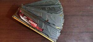 Ram DDR3 16go G.SKILL Sniper 4x4Go très bonne état