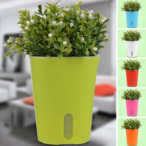 Image Is Loading Useful New Self Watering Planter Flower Pot Home