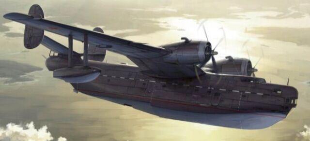 Hydravion à coque BERIEV Be-6