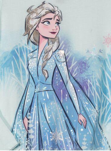 Disney Frozen 2 Elsa Front Tie Long Sleeve Graphic T-Shirt Size XL 14//16 NEW