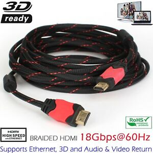 2017-Newest-3D-HDMI-Cable-4K-High-Speed-Premium-Braided-4K-15ft-25ft-30ft-1080P