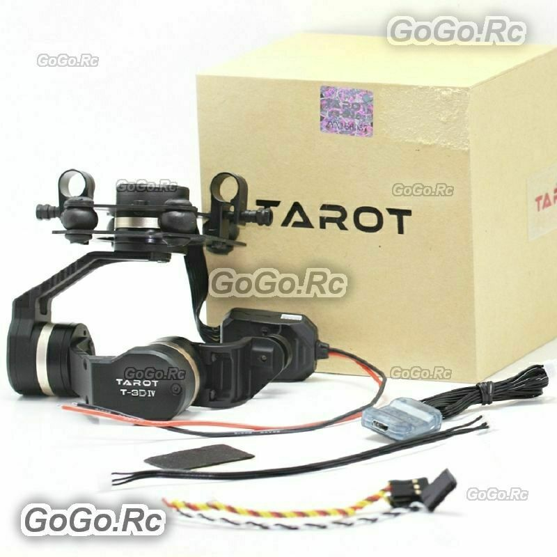 Tarojo T-3D IV Metal 3-Axis HERO4 SESSION Gimbal For GOPRO FPV Drone - TL3T02