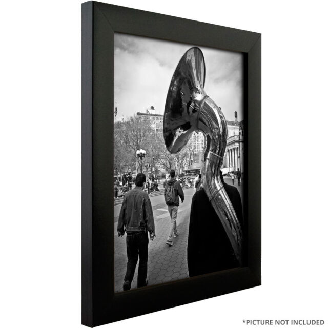 Craig Frames 1wb3bk 12 By 36 Inch Pictureposter Frame Smooth Finish
