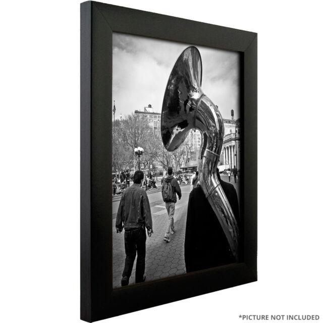 Craig Frames 1wb3bk 1 Contemporary Black 13x19 Inch Poster Frame Ebay