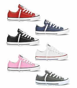 CONVERSE-CT-ALL-STAR-OX-VARIOUS-COLOURS-YOUTH-SIZES-UK-11-UK-2-BRAND-NEW