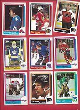 1986-87 Topps Hockey you pick 10 picks $2.00 NM to Mint