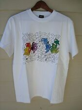 Vintage Limited Stussy X Ghost Tee Shirt Supreme White M