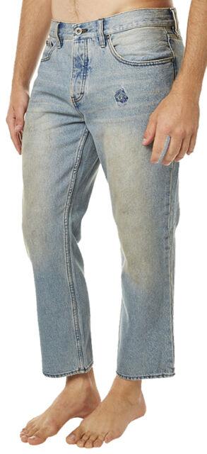 RVCA Mens Cotton Flood Jean