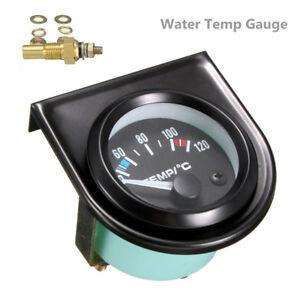 52mm-Thermometre-Jauge-de-Temperature-Eau-Avec-Aiguille-Voiture-40-120-LED-DD