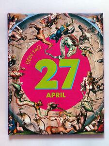 27.APRIL - Geburtstagsbuch - DEIN TAG - 27.04. - STIER - Stammbaum Buch Büchlein - Deutschland - 27.APRIL - Geburtstagsbuch - DEIN TAG - 27.04. - STIER - Stammbaum Buch Büchlein - Deutschland