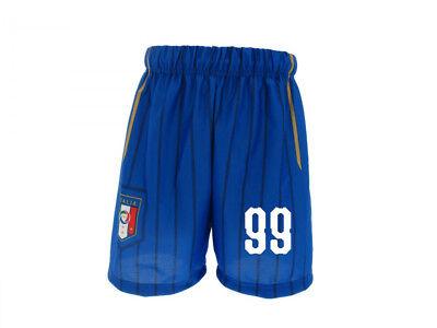 Pantaloncini Italia Personalizzati Nazionale Ufficiali Figc Numero A Scelta