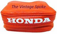 Honda Xr250l Xr650r & Xr650l Replica Orange W/ White Letter Tool Bag Pouch C-015