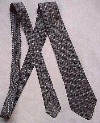 Affidabile Vintage Tootal Cravatta Da Uomo Cravatta Retro Fashion Argento Scintillante D'argento Di Qualità-mostra Il Titolo Originale Styling Aggiornato