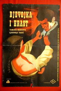 GIRL-amp-THE-OAK-DEVOJKA-I-HRAST-LJUBA-TADIC-1955-RARE-EXYU-MOVIE-POSTER