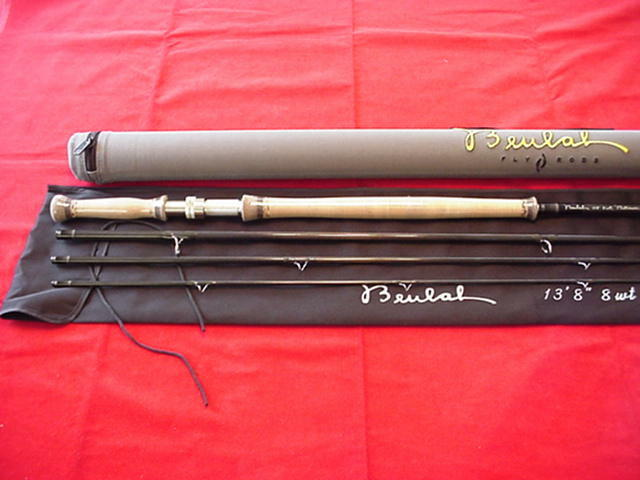 Beulah Platinum Spey Fly Rod 13ft 8in  8 Line GREAT NEW