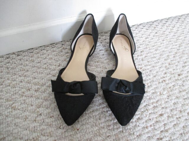 401971b9638 Ivanka Trump Pointed Toe Bow Flats Shoes Size 9 M