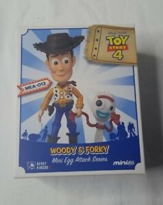 Beast Kingdom Mini Egg Attack Toy Story 4 Woody & Forky MEA-012 NEW IN BOX