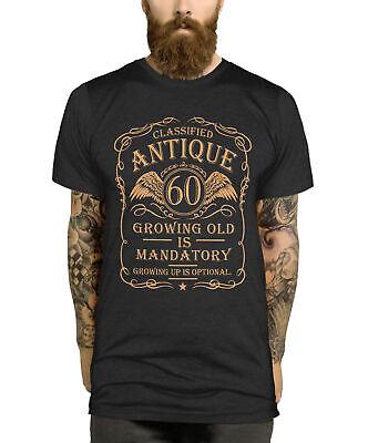 60th Birthday T-Shirt Gift Idea For Men
