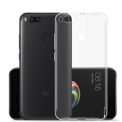 Transparent Soft Silicon TPU Back Cover Case For Xiaomi Redmi MI A1