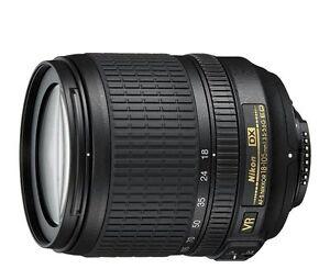 NIKON 18-105 mm AF-S VR Zoom 1:3,5-5,6G vom Fachhändler ! NIKKOR 18-105mm