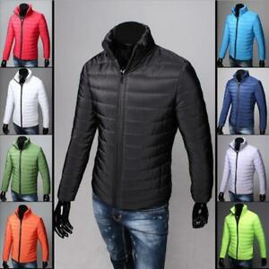 Men-039-s-Down-Coat-Winter-Thick-Hoodie-Outerwear-Jacket-Hooded-Warm-Puffer-Overcoat