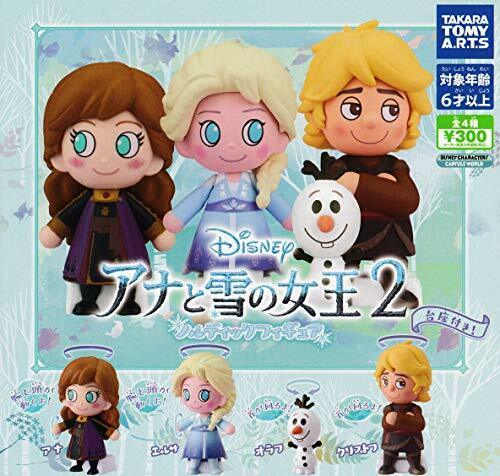 TAKARA TOMY Disney Frozen 2 Nordic all4 set capsule Figures Complete
