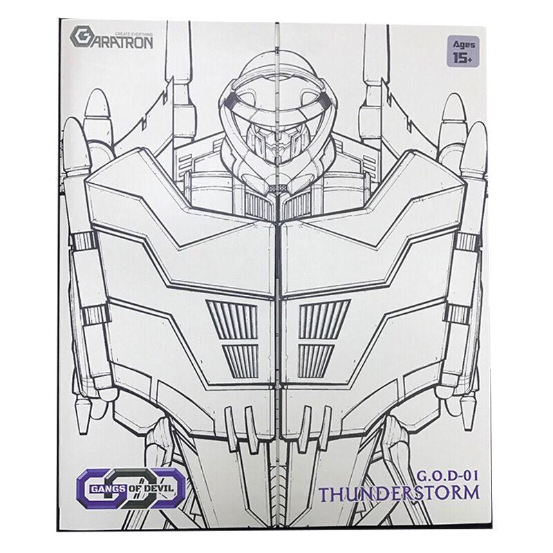 Transformers  garatron GOD-01 orage Action Figure Collection NEUF  magasins d'usine