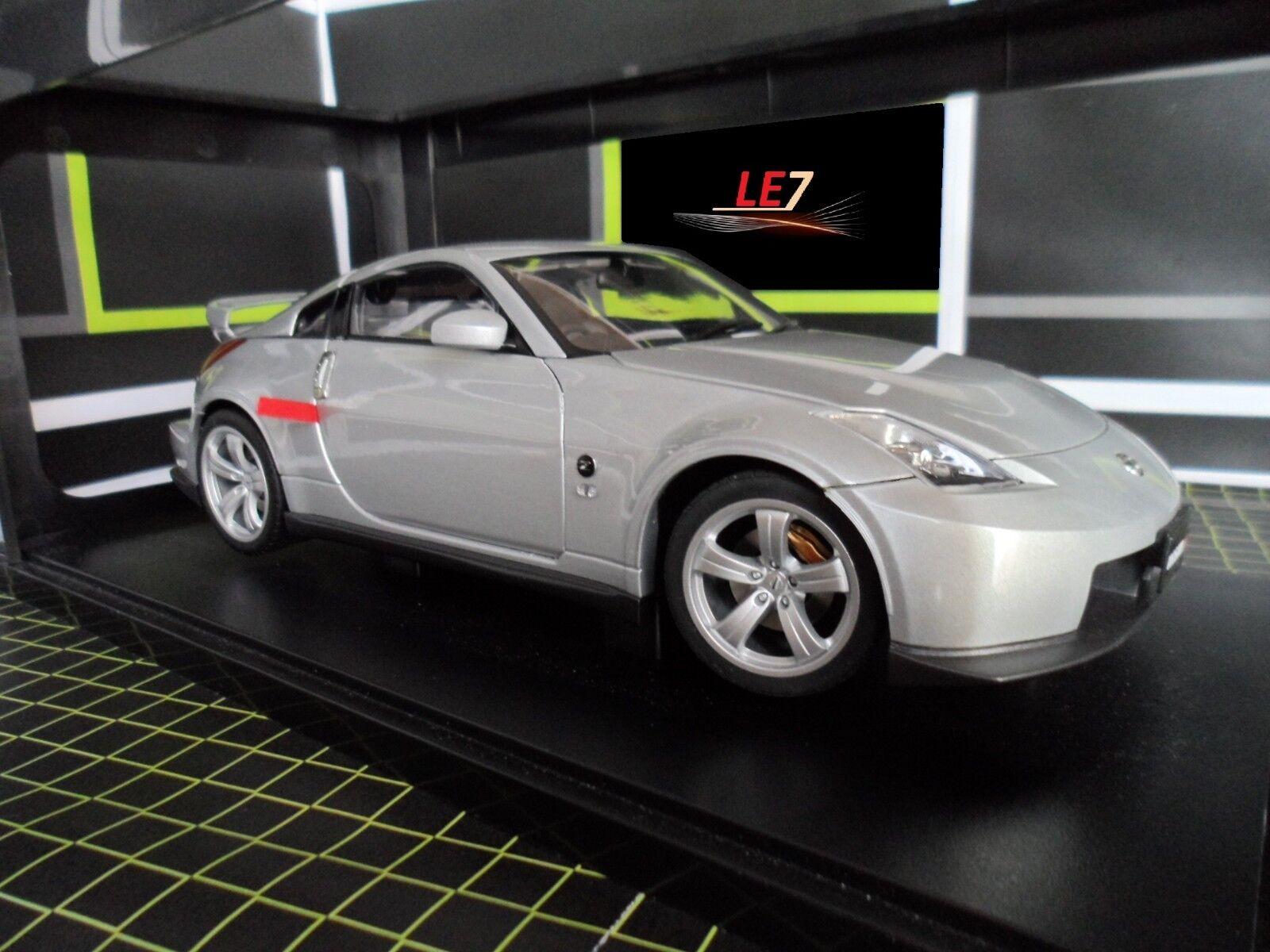 AUTOart Nissan Fairlady Z Nismo 380RS 1 18 Gris ⭐️