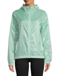 Jacket Gennemsigtig Green Packable Seafoam Zip Windbreaker Nybalance L qBxOTtv