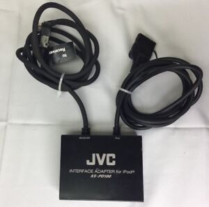 Genuine-OEM-JVC-KS-PD100-Interface-Adapter-For-Apple-Ipod