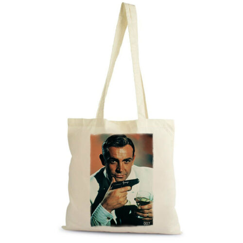 coton Shopping Bag Bond James Bond 007 Sean Connery Sac Tote naturel