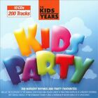 The Kids Years: Kids Party by Various Artists (CD, Mar-2011, 10 Discs, Crimson Productions (USA))