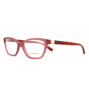 BURBERRY-MONTATURE-OCCHIALI-Be2221-3576-intricati-ROSSO-51mm-da-donna