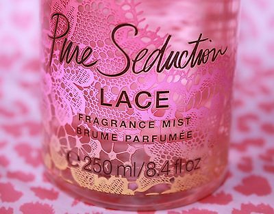 SAVE up to 36% PURE SEDUCTION LACE Body Mist 8.4 fl oz by VS !!! LAST ONE !!!