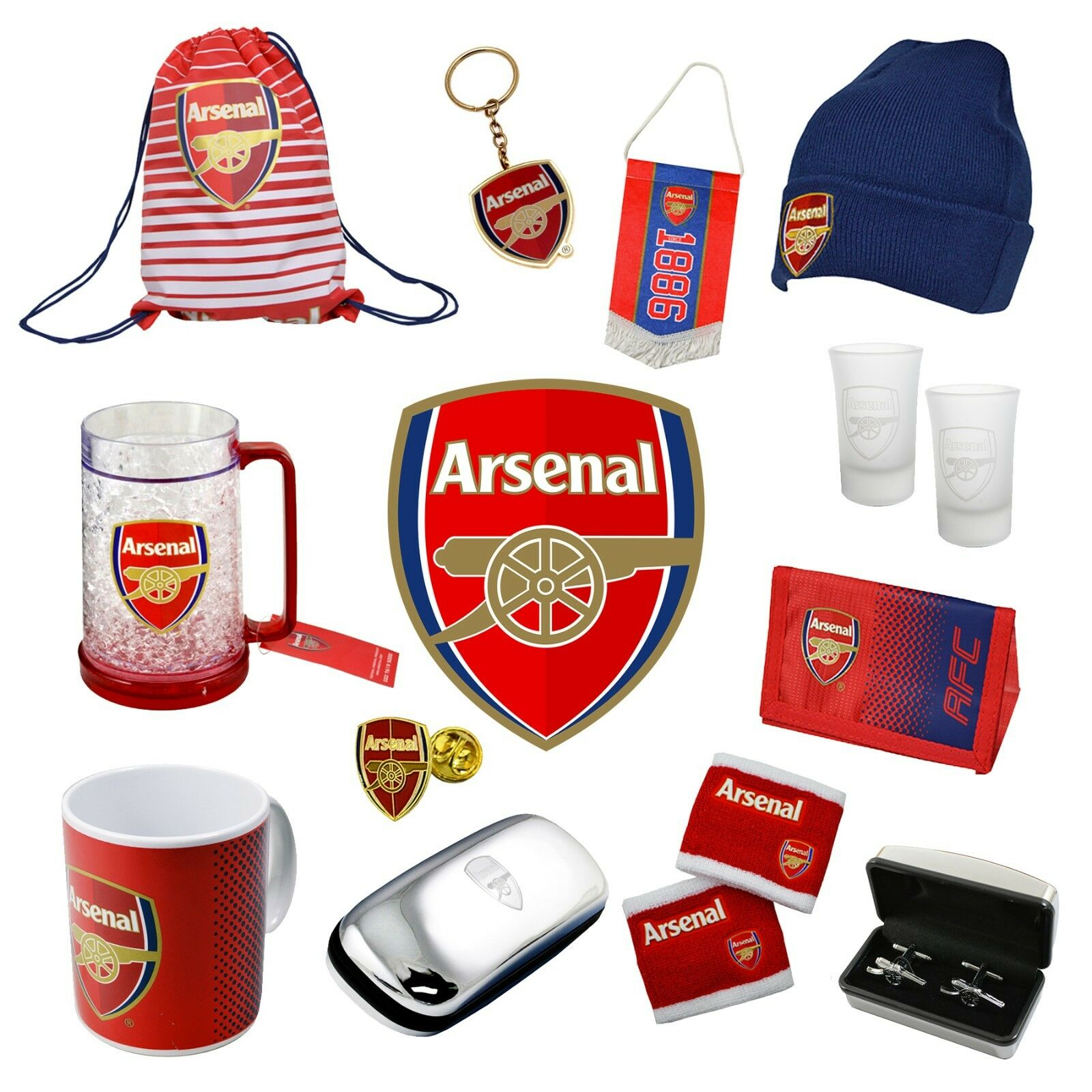 Details about ARSENAL - Official Football Club Merchandise (Gift d75e1741b