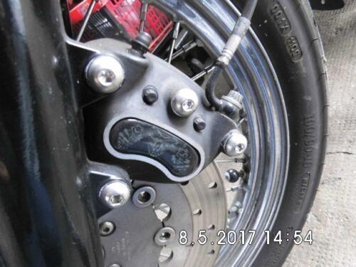 Harley Davidson Street Bob  Bremssattelschrauben für vorne