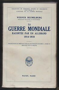 La-guerre-mondiale-racontee-par-un-Allemand-de-Werner-Beumelburg-EO-Payot-1933
