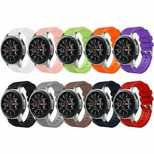 For Samsung Gear S3 Replacement Silicone Smart Watch Strap Band Wrist Fitness