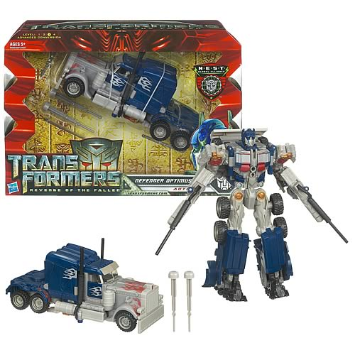 Transformers rare  Revenge of the Fallen nid Defender Optimus Prime  100% authentique