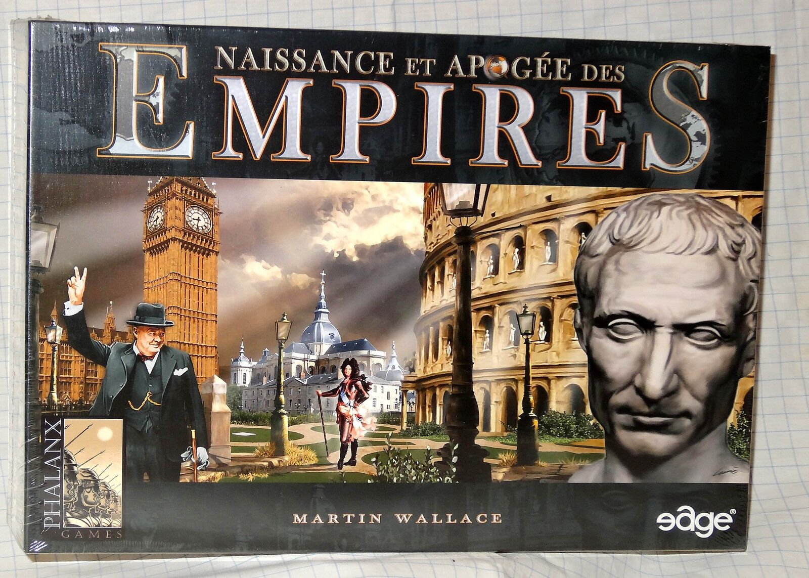 EDGE   NAISSANCE & APOGEE DES EMPIRES VERSION FRANCAISE NEUF