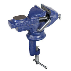 Cool Details About 1Pcs 60Mm 360O Swivel Portable Table Bench Vice Clamp Mini Vise Anvil Cast Sale Andrewgaddart Wooden Chair Designs For Living Room Andrewgaddartcom