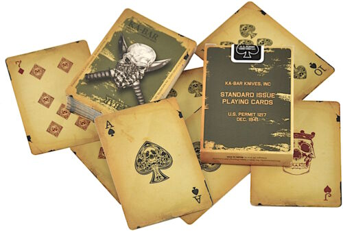 Military Theme Playing Cards Made In USA