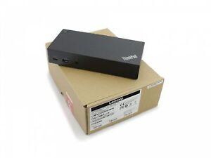 FRU-03x7194-original-Lenovo-USB-C-PORTA-REPLICATORE-Incl-Alimentatore-90w