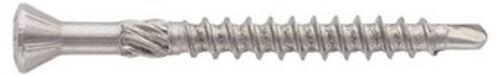 Art. 9241 Ziko-Holzbauschrauben mit Bohrspitze Schälrippen Edelstahl Torx TX