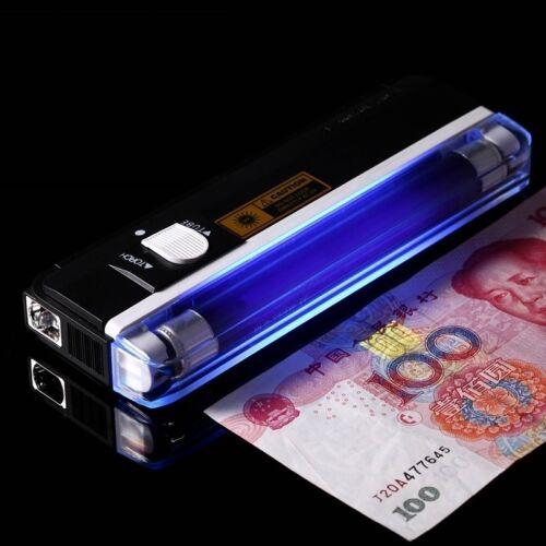 Portable UV  blacklight Led Flashlight For Urine Detector Money Detect Device