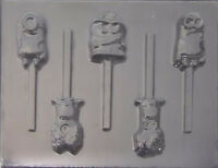 Minions Despicable Me Chocolate Lollipop Candy Mold 470 -