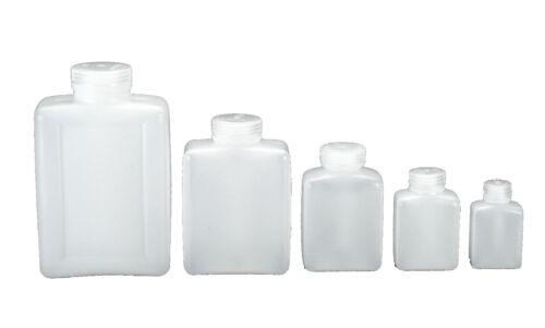 Größen von 125 ml bis 2000 ml Nalgene Weithalsflasche rechteckig