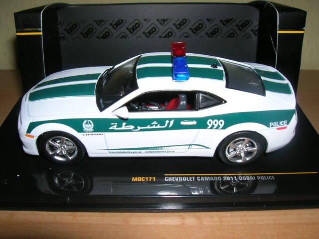 Ixo Chevrolet Camaro Dubai Polizei Police Baujahr 2011  1:43 Artikel MOC171